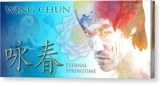Wing Chun Eternal Springtime Canvas Print