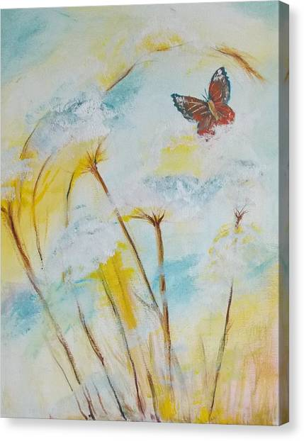 Winged Flight Canvas Print