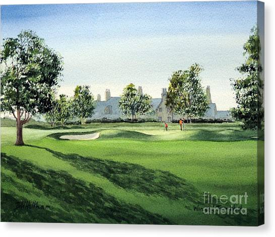 Winged Foot West Golf Course 18th Hole Canvas Print