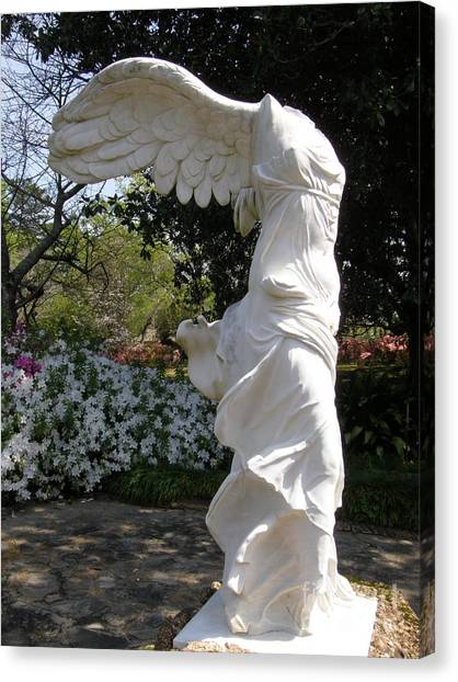 Winged Victory Nike Canvas Print