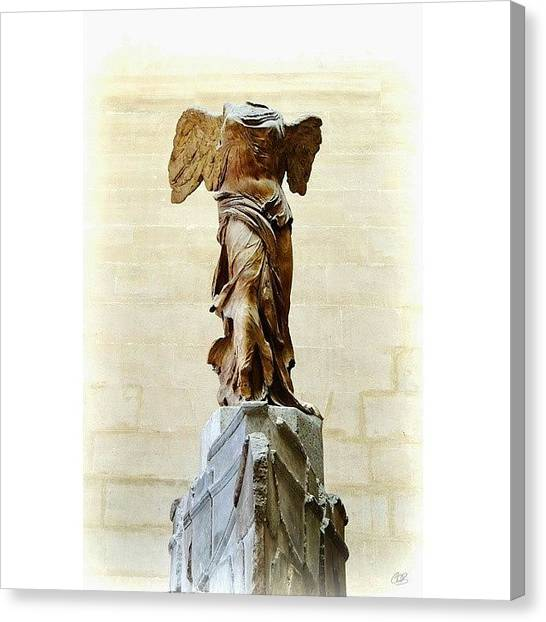Greek Art Canvas Print - Winged Victory Of Samothrace:  A by Conor O'Brien