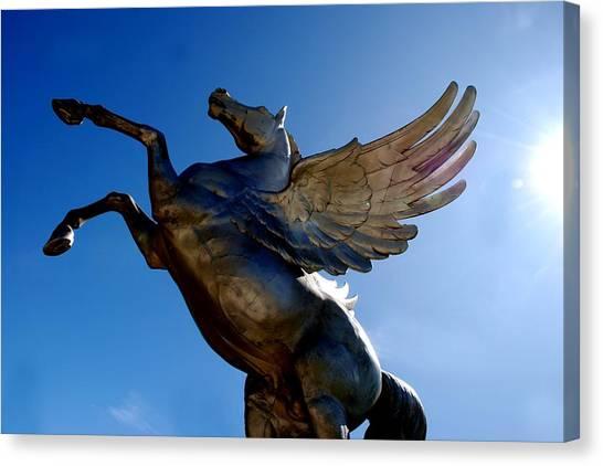 Winged Wonder I Canvas Print