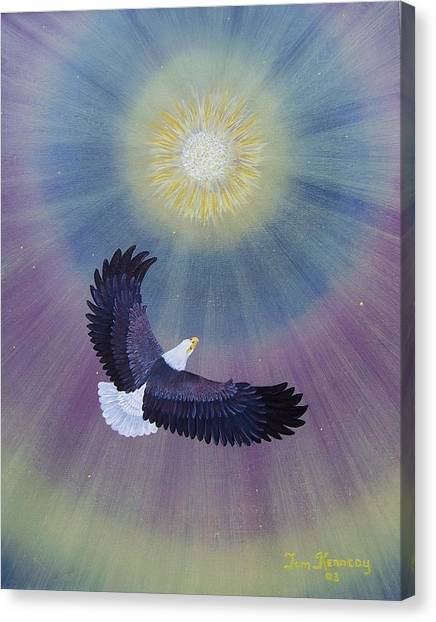 Wings Of Eagles Canvas Print