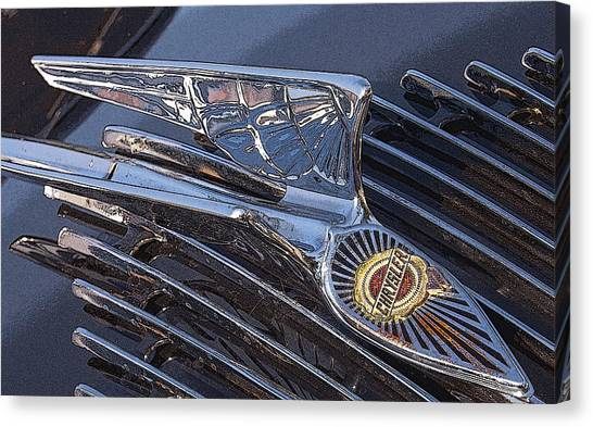 Wings On The Grill Canvas Print