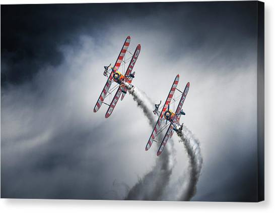 Wingwalkers Canvas Print by Leon
