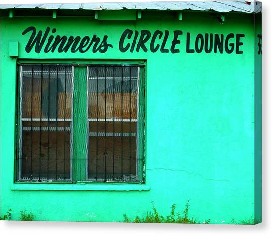 Winner's Circle Lounge Canvas Print