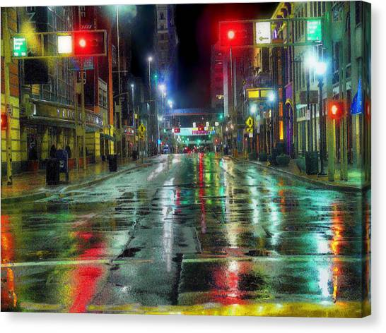 Winning Streaks Canvas Print