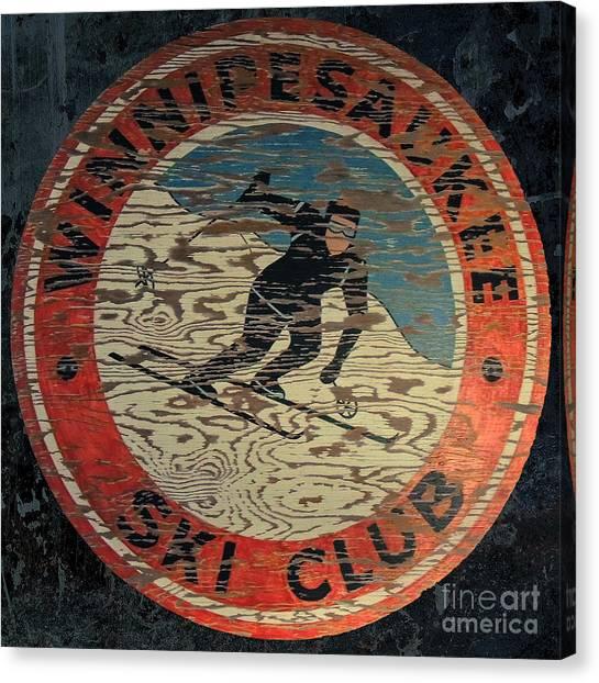 Winnipesaukee Ski Club 2 Canvas Print