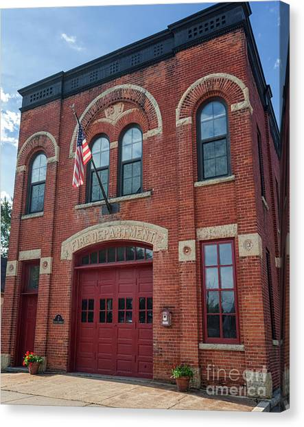 Winona East End Fire Station Canvas Print