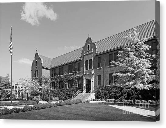 Mississippi State University Canvas Print - Winona State University Phelps Hall by University Icons