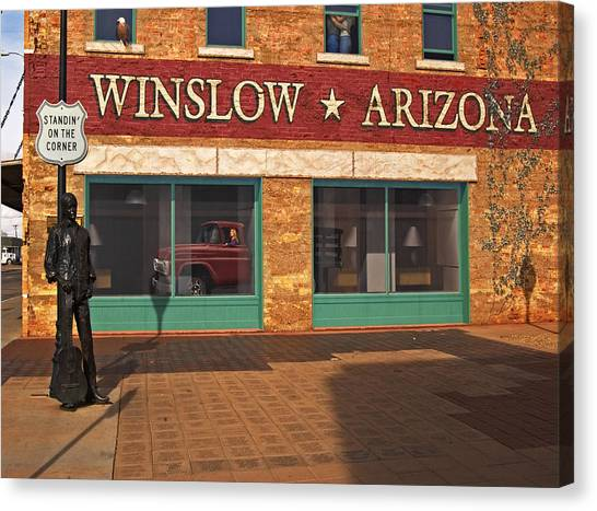 Winslow Arizona Canvas Print