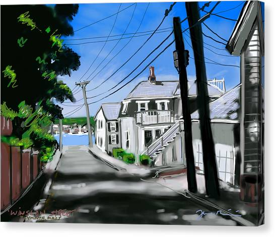 Winslow Street Canvas Print