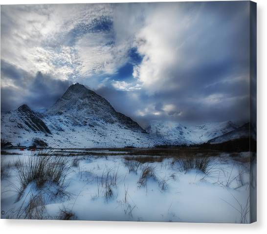 Winter At Tryfan Canvas Print