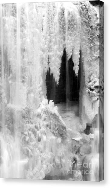 Winter Cave Canvas Print