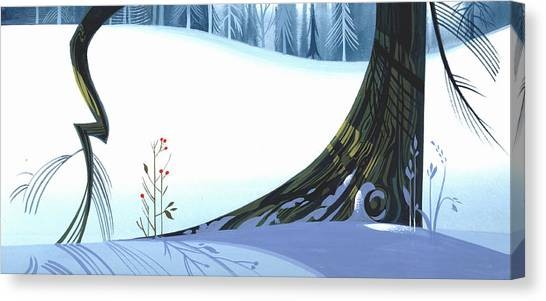 Winter Grace Canvas Print