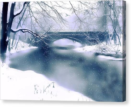 Winter Haiku Canvas Print