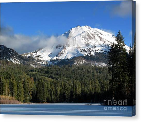 Winter In Lassen National Park Canvas Print