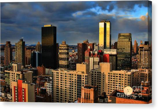 Winter Light In New York Canvas Print
