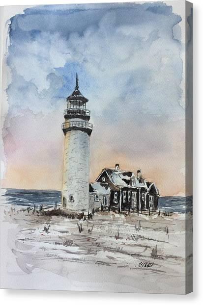 Winter Light Canvas Print by Stephanie Sodel