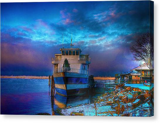 Welcome Sun Breaking The Cold Canvas Print