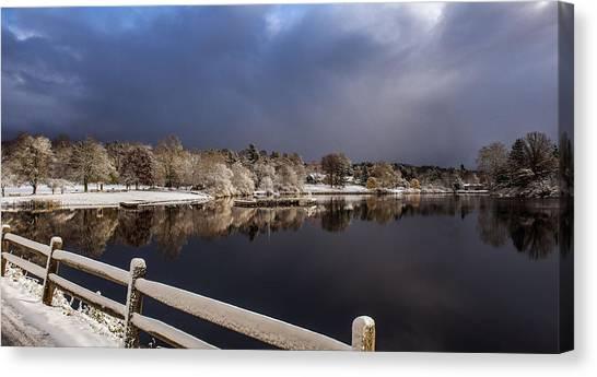 Winter Returns Canvas Print