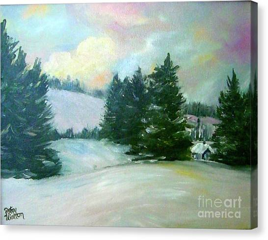 Winter Sang In The Chimneys Canvas Print