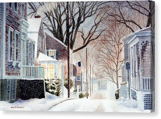 Winter Still Canvas Print