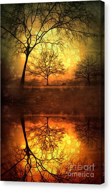 Winter Warmth Canvas Print
