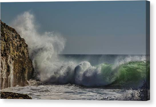 Winter Waves Canvas Print