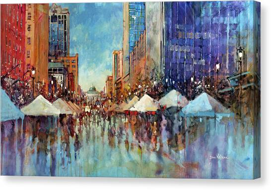 Winterfest 2013 Canvas Print