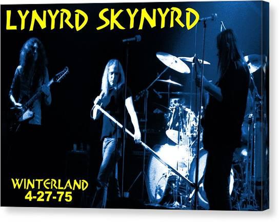 Winterland 4-27-75 Canvas Print