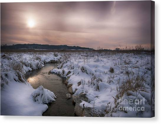 Winter's Blanket... Canvas Print