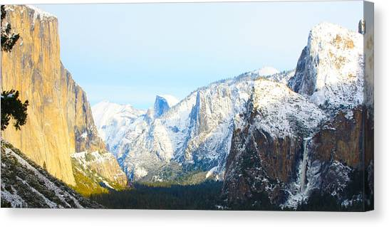 Winter's Blessing Canvas Print