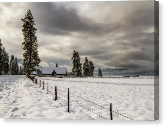 Winters Escape Canvas Print