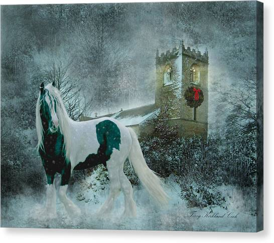 Winter's Hope Canvas Print
