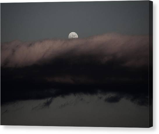 Winter's Moon Canvas Print
