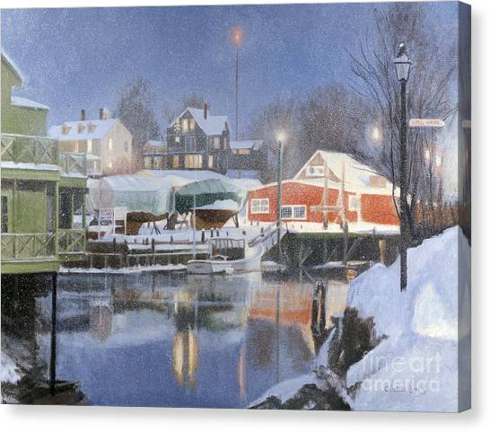George W. Bush Canvas Print - Winters Rest by Candace Lovely