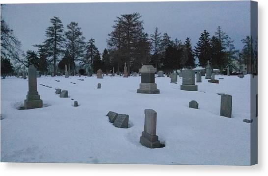 Winters Rest Canvas Print