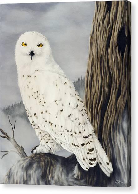 Birds Of Prey Canvas Print - Winterwise by Rick Bainbridge