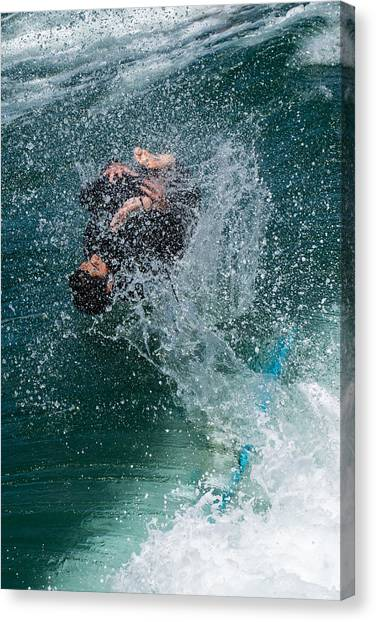 Wipe Out Canvas Print by Classic Visions