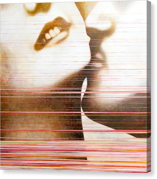 Love Canvas Print - Wipe by Sandra Cohen