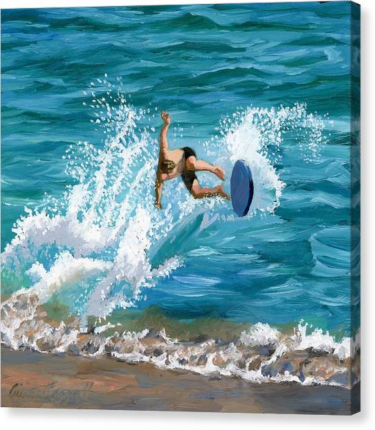 Wipeout Canvas Print