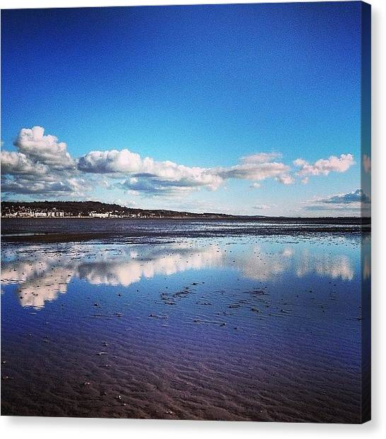 Kirby Canvas Print - Wirral Skyscape by Louise Chester