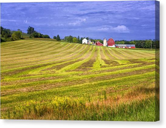 Wisconsin Dawn Canvas Print