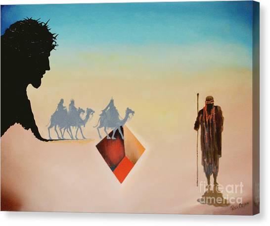Wise Men Still Seek Him Canvas Print by Peter Olsen