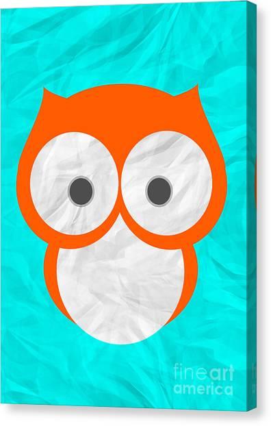 Wise Owl Canvas Print by Henrietta Buwalda