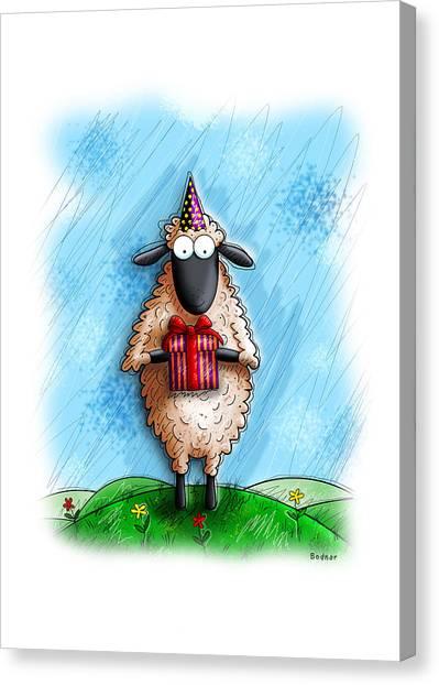Wishing Ewe  Canvas Print
