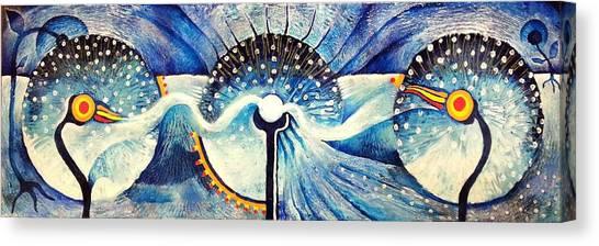 Wishing Through Wormholes Canvas Print