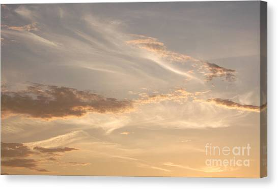 Wispy Sunset Canvas Print
