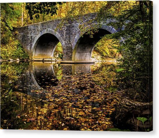 Wissahickon Park Bridge Canvas Print